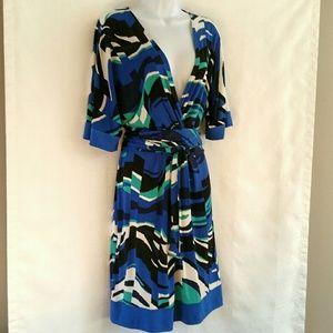 BCBGMAXAZRIA Wrap Dress L
